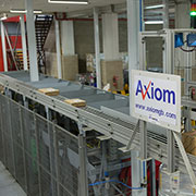 Superdrug products go through a final scan on the Axiom sorter