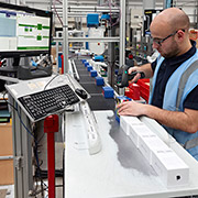 Twin level automated line for Unipart Technology Logistics