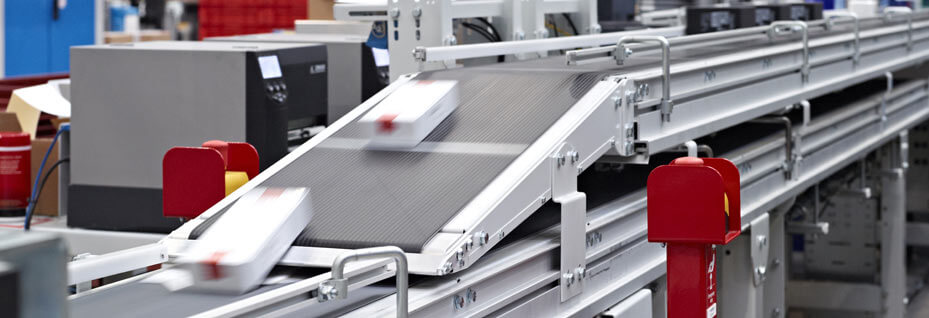 Click and Collect automated processing line