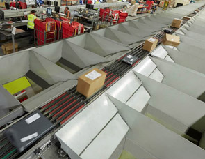 Shoe Sliding Sorting System