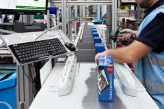 Axiom's automated line has increased throughput by tenfold at Unipart Technology Logistics