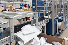 Axiom's system automatically sorts products by delivery type at Unipart Technology Logistics