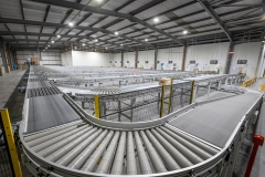 Conveyor solution with 11 destination lanes at Lynas, Dublin