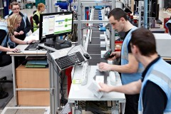 Twin level automated line at Unipart Technology Logistics