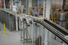 Axiom's sorter inside the Superdrug distribution centre