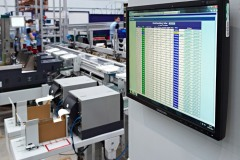 Intuitive operator screens track each item at Unipart Technology Logistics