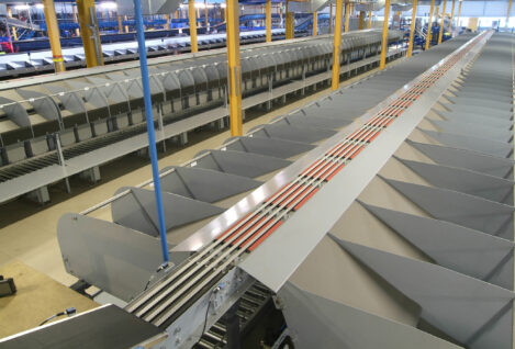 Axiom sortation system doubles capacity at Game Group distribution centre