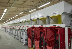 Axiom's 100 destination packet mail sorter at B2C Europe